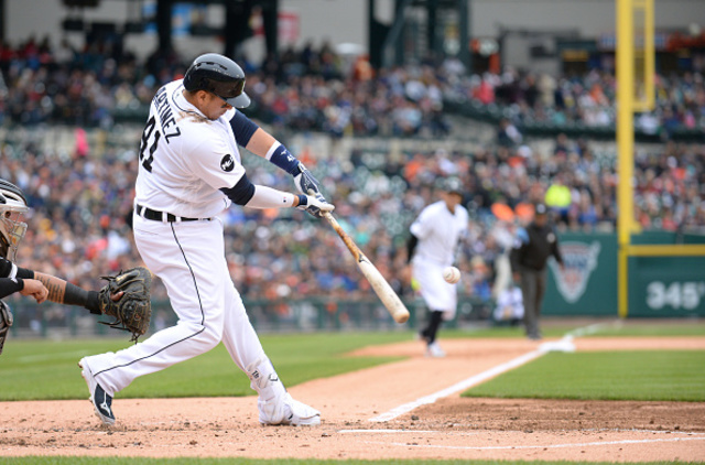 Tigers' Victor Martinez released from hospital, will remain in Detroit for monitoring
