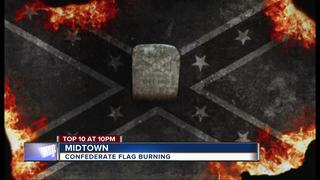 Local gallery will burn Confederate banner
