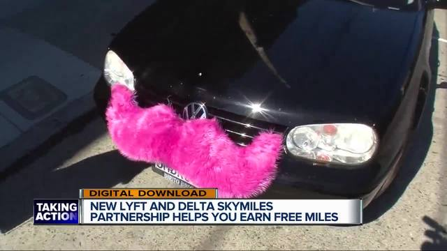 Delta fliers can earn miles with Lyft