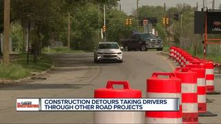 Detroit construction leads to rage with delays