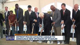 Detroit PAL to announce major sponsorship