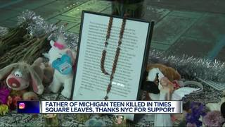 Dad of MI Times Square victim leaves note