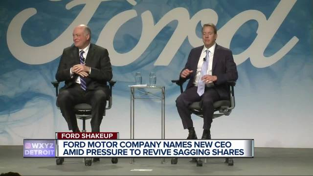 Mark Fields Out Jim Hackett In As New Ceo Of Ford Motor
