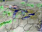 FORECAST: Shower today, widespread rain ahead