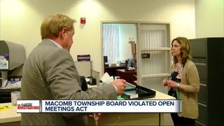 Judge: Macomb Twp violated Open Meetings Act