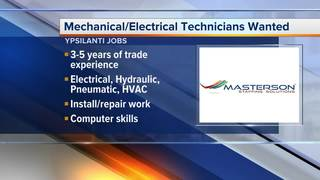 Mechanical/Electrical Technician jobs in Ypsi