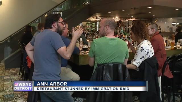 US Immigration Agents Eat, Arrest 3 At Michigan Restaurant