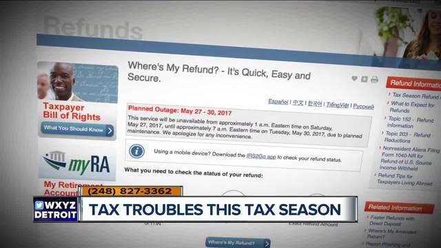 Tax troubles this tax season