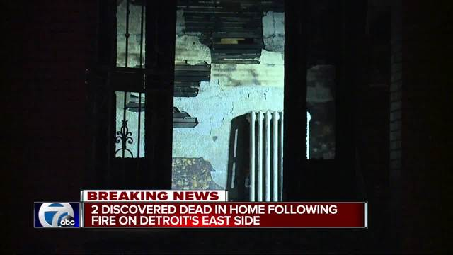Suspicious Detroit group home fire leaves 2 dead
