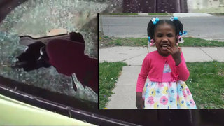 Detroit girl hit by brick released from hospital