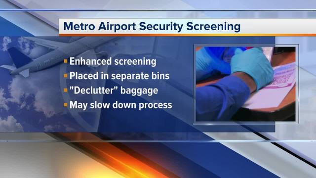 TSA testing tougher carry-on screening procedures