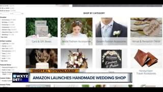 Amazon launches Handmade Wedding Shop