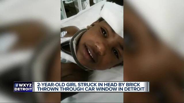 2-Year-Old Girl Critically Injured, Hit By Brick Through Car Window