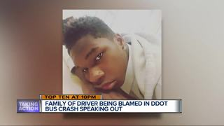 Teen's family says he didn't cause bus crash