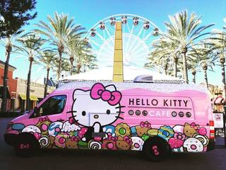 'Hello Kitty' cafe truck to stop in Auburn Hills