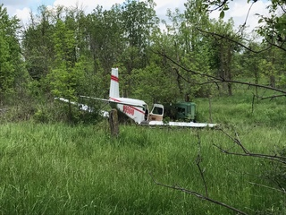 Small plane crashes in northern Macomb County