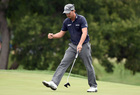 Spieth charges, Kisner holds on to win Colonial
