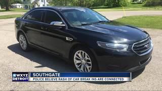 Car stolen during rash of Southgate break-ins