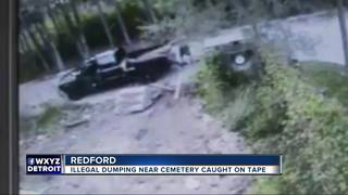 Cameras catch illegal dumpers at cemetery