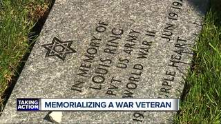 Soldier missing since D-Day honored w/ monument