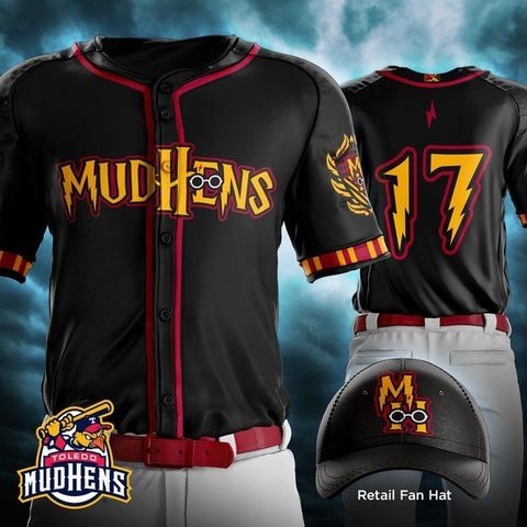 Toledo Mud Hens to celebrate 'Harry Potter' with themed jerseys