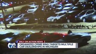 Thieves break into 45 vehicles at car dealership