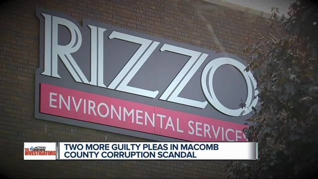 Ex-elected officials enter pleas in trash hauling scandal