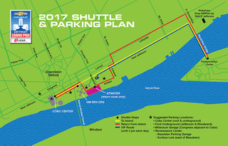 Parking & transportation info for the Grand Prix