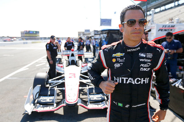 Graham Rahal takes pole, track record at Detroit Grand Prix