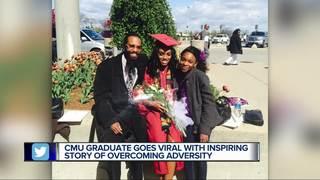 CMU grad's inspiring story goes viral