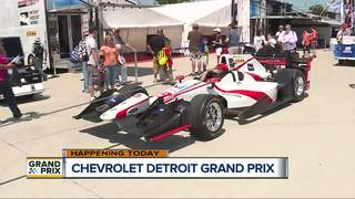 Castroneves, Rahal top Grand Prix practices