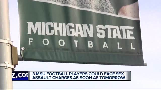 Charges Filed Against 3 MSU Football Players In Sexual Assault Case