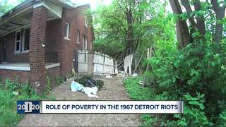 Examining poverty's role in 1967 Detroit riots