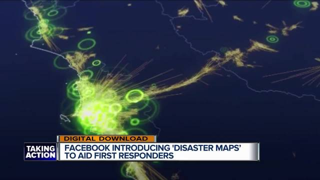 Facebook's 'disaster maps' to aid first responders after natural disasters