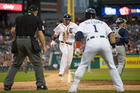 Castellanos' hard hitting helps Tigers rout Rays