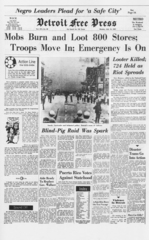 Community Comment on '67 unrest & Dream Cruise