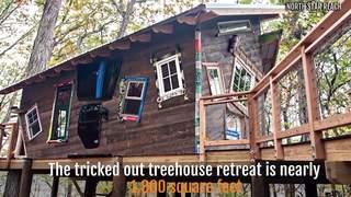 $200K treehouse built for sick children