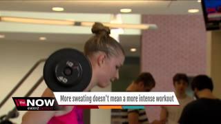 Dr. Nandi: Sweating not equal to intense workout