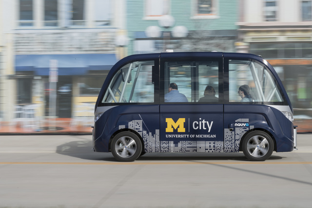 Driverless Shuttle Service Coming To University Of Michigan