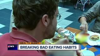 Breaking bad eating habits