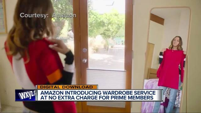 Amazon Wardrobe offers clothes-by-mail to try on at home
