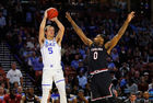 Pistons take Duke's Kennard in NBA Draft