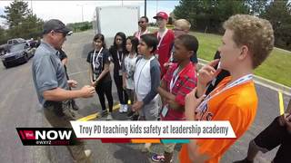 Troy PD teach kids what to do if pulled over