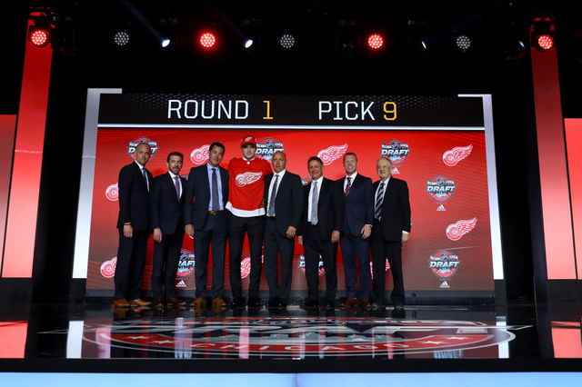 Red Wings Select Michael Rasmussen in 2017 NHL Draft