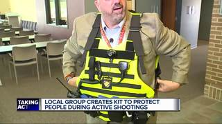 Local men come up with kit for shooter event