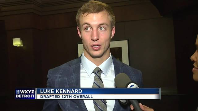 Detroit Pistons select Duke guard Luke Kennard in the NBA Draft