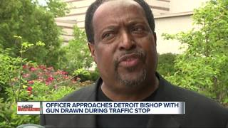 Detroit bishop questions aggressive traffic stop