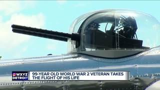 99-year old veteran completes bucket list