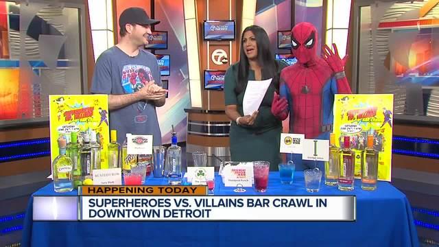 Dozens to suit up for Superheroes vs. Villains Bar Crawl in Downtown Detroit