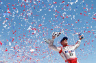 Harvick wins at Sonona for 1st victory of season